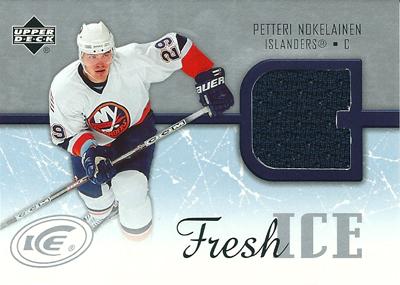 ペッテリ・ノケライネン NHLカード Patteri Nokelainen 2005/06 Upper Deck Ice Fresh Ice