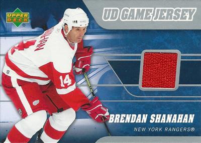 ブレンダン・シャナハン NHLカード Brendan Shanahan 2006/07 Upper Deck Game Jerseys