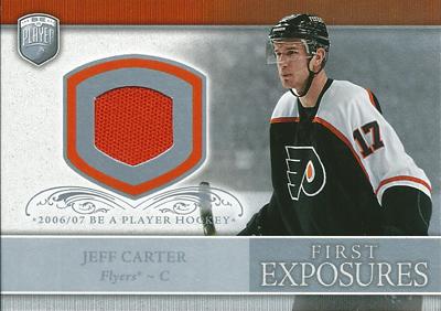 ジェフ・カーター NHLカード Jeff Carter 2006/07 Be A Player Portraits First Exposures