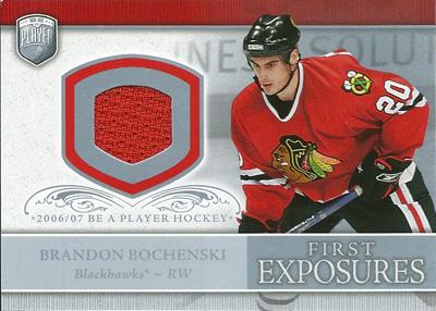 ブランドン・ボチェンスキー NHLカード Brandon Bochenski 2006/07 Be A Player Portraits First Exposures