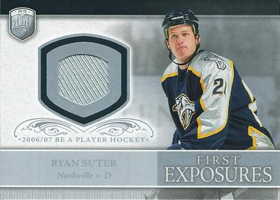 ライアン・スーター NHLカード Ryan Suter 2006/07 Be A Player Portraits First Exposures