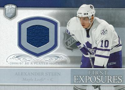 アレクサンダー・スティーン NHLカード Alexander Steen 2006/07 Be A Player Portraits First Exposures