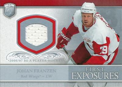 ヨハン・フランゼン NHLカード Johan Franzen 2006/07 Be A Player Portraits First Exposures