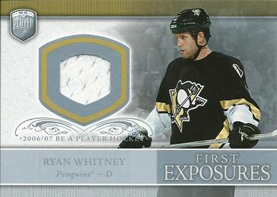 レイ・ホイットニー NHLカード Ray Whitney 2006/07 Be A Player Portraits First Exposures