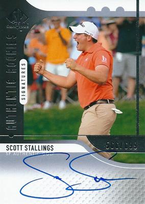 スコット・スターリングス GOLFカード Scott Stallings 2012 SP Authentic Rookie Autographs 566/699