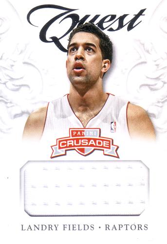 ランドリー・フィールズ NBAカード Landry Fields 12/13 Panini Crusade Quest Memorabilia