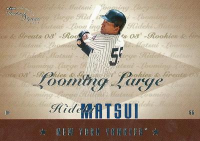 松井秀喜 MLBカード 2003 Fleer Rookie and Greats Looming Large 259/500