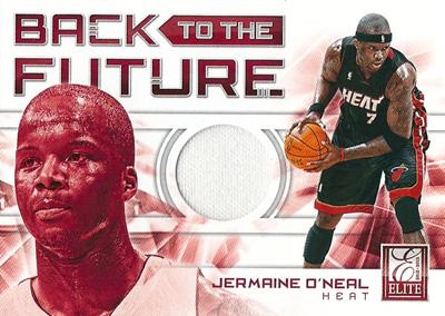 ジャーメイン・オニール NBAカード Jermaine O'Neal 12/13 Panini Elite Back to The Future Materials