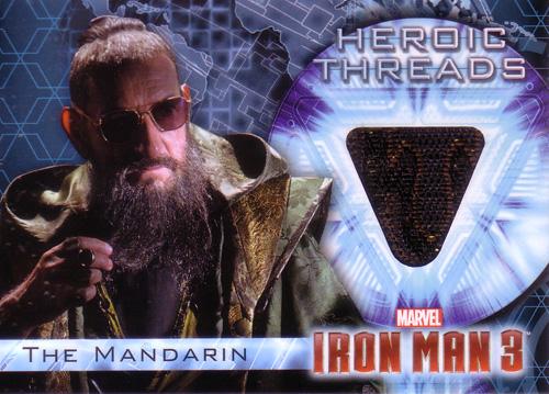 マンダリン 映画カード The Mandarin 2013 UD Iron Man 3 Heroic Threads