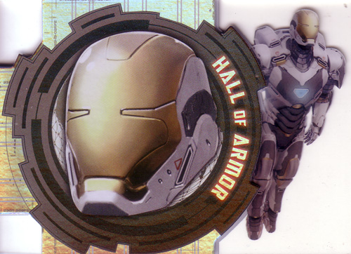 マーク39 映画カード Mark XXXIX 2013 UD Iron Man 3 Hall of Armor (HOA-16)