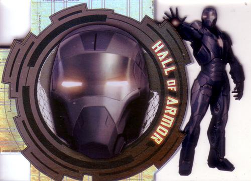 マーク40 映画カード Mark XL 2013 UD Iron Man 3 Hall of Armor (HOA-17)