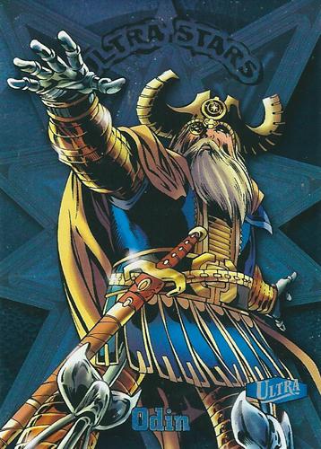 オーディン アメコミカード Odin 2013 UD Fleer Retro Marvel Ultra Stars