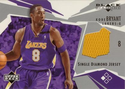Kobe Bryant 2003/04 Black Diamond Game Jersey
