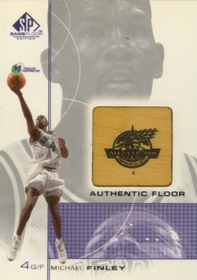 Michael Finley 2000/01 SP Game Floor Authentic Floor