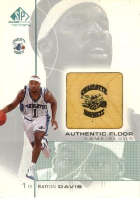 Baron Davis 2000/01 SP Game Floor Authentic Floor