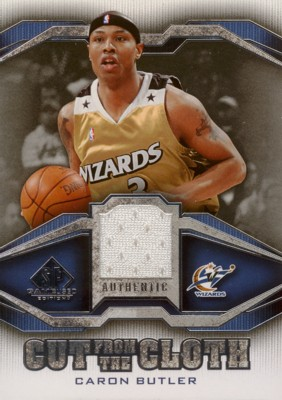 Caron Butler 2007/08 SP Game Used Cut from the Cloth Jersey