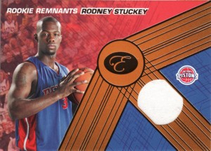 Rodney Stuckey 2007/08 Bowman Elevation Rookie Remnants Relic 29枚限定!