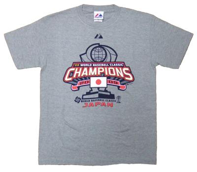 2009 WBC 日本代表ロッカールームTシャツ / ワールドベースボールクラシック(WBC)優勝Tシャツ Sサイズ