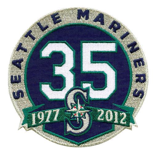 【シアトル・マリナーズ】 球団設立35周年記念ロゴパッチ / Seattle Mariners