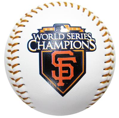 【サンフランシスコ ジャイアンツ】 MLB 2010 ワールドシリーズ優勝記念ボール / San Francisco Giants