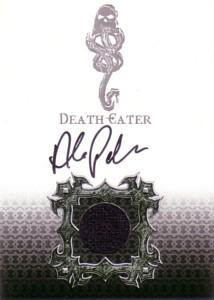 Death Eater (Alex Palmer) ハリー・ポッターと炎のゴブレット 直筆サイン入り コスチューム カード