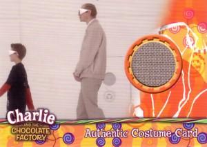 Mr.Teavee (Adam Godley) チャーリーとチョコレート工場 コスチュームカード 430枚限定!