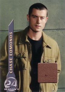 Chase Edmonds 24 Season 3 コスチュームカード