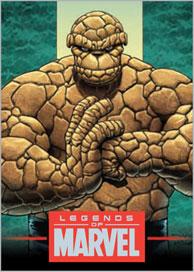 2012 Rittenhouse Legends of Marvel Series 4 カードセット (Set)