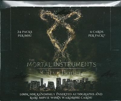 ザ・モータル・インストルメンツ シティ オブ ボーン トレーディングカード ボックス (Box) / THE MORTAL INSTRUMENTS: CITY OF BONES