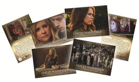 ゴースト 〜天国からのささやき シーズン 3 & 4 トレーディングカード セット / Ghost Whiserer Season 3&4 Trading Cards
