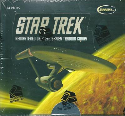 【STAR TREK】 The Remastered Original Series Pack (パック) スタートレック トレーディングカード