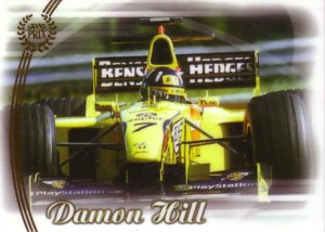 Damon Hill 2006 Futera Grand Prix Porcelain Card 175枚限定!