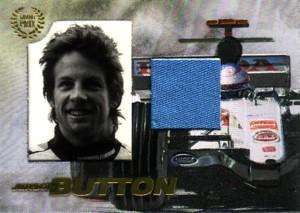 Jenson Button 2006 Futera Grand Prix Memorabilia Card 275枚限定!�