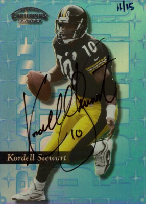 Kordell Stewart 2002 Playoff Prime Signatures Honor Roll Autographs 15枚限定!