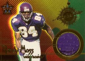 Randy Moss 2000 Pacific Vanguard Game Worn Jersey