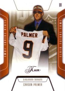 Carson Palmer 2003 Flair Rookie Card 500枚限定!