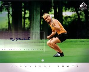 Jennifer Rosales 2004 SP Signature Shots 8×10