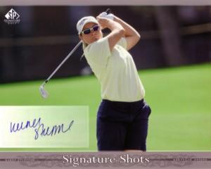 Karen Stupples 2005 SP Signature Shots 8×10
