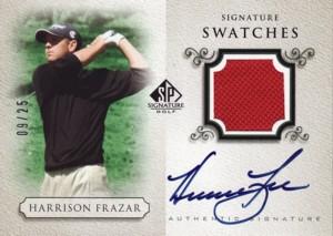 Harrison Frazar 2004 SP Signature Golf Signature Swatches 25枚限定!