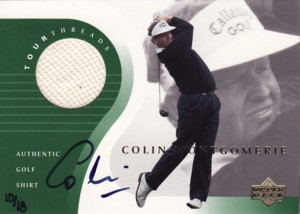 Colin Montgomerie 2002 SP Game Used Buyback Autograph 18枚限定!