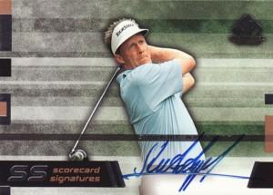 Stuart Appleby 2003 SP Game Used Scorecard Signatures