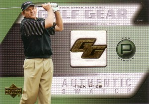 Nick Price 2004 Upper Deck Golf Gear Par