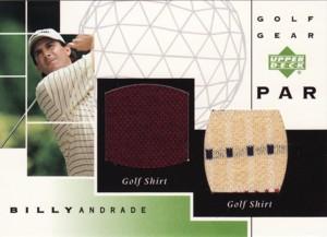 Billy Andrade 2003 Upper Deck Golf Gear Par