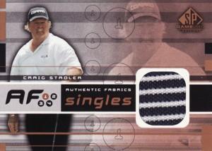 Craig Stadler 2003 SP Game Used Authentic Fabrics Singles