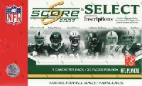 NFL 2007 Score Select Pack