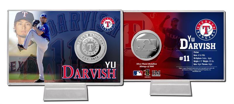 The Highland Mint (ハイランドミント) ダルビッシュ有 2012 スプリング・トレーニング シルバーコインカード Yu Darvish Spring Training Silver Coin Card