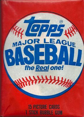 【MLBカード】 1985 Topps パック