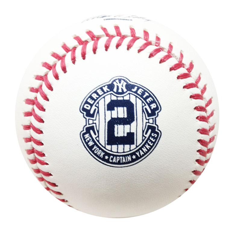 MLB 2014 デレク・ジーター 引退記念ボール ローリングス (Derek Jeter)