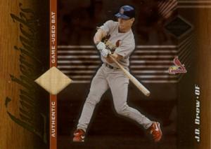 J.D. Drew 2001 Leaf Limited Lumberjacks Game Bat 500枚限定!