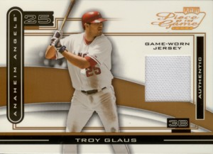 Troy Glaus 2003 Playoff Piece of the Game Bronze Jersey 150枚限定!
